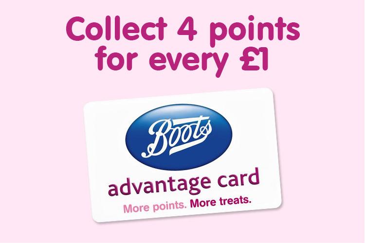 Boots Advantage Card click here